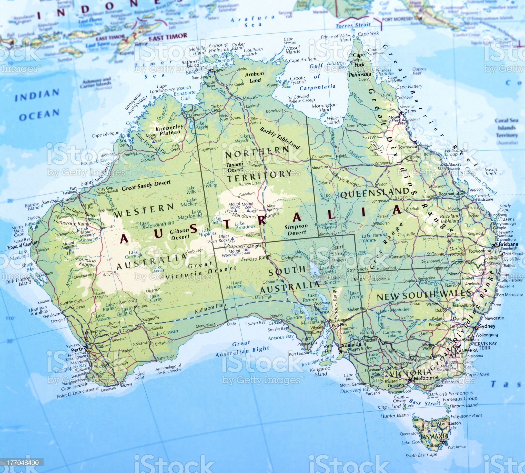 AUSTRALIA royalty-free stock photo