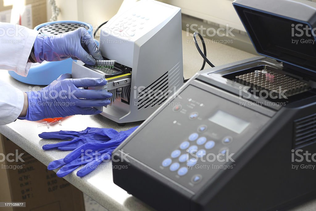 PCR stock photo