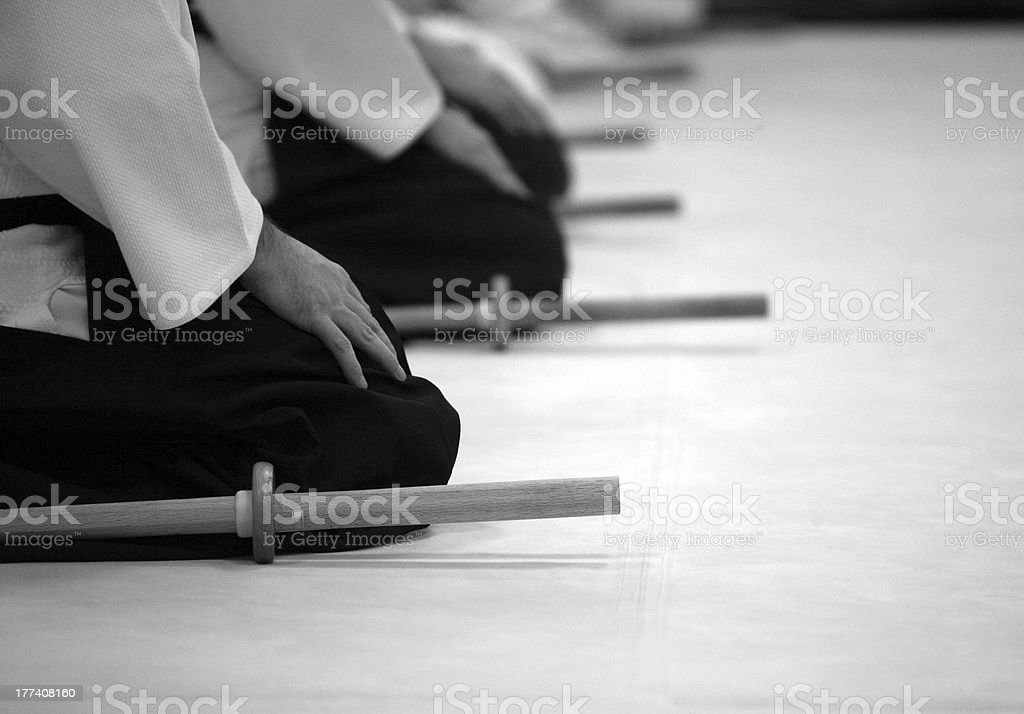 AIKIDO stock photo