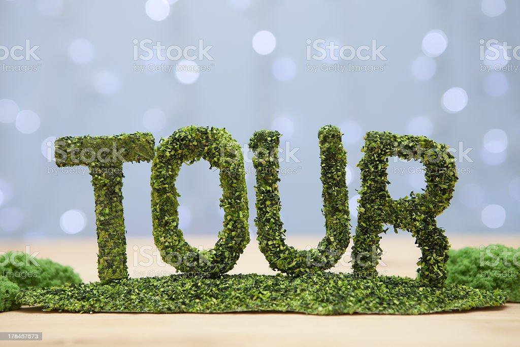 TOUR royalty-free stock photo