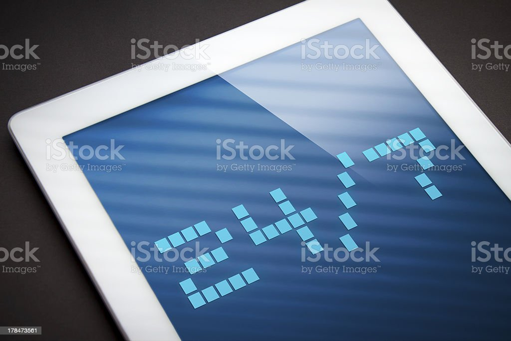 24/7 royalty-free stock photo
