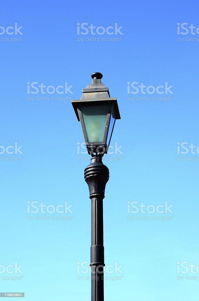 STREET LIGHTING royalty-free stock photo