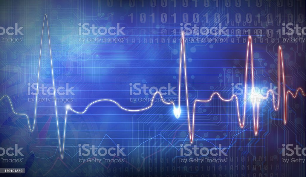 , EEG stock photo