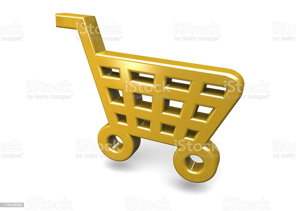 CART - 3D royalty-free stock photo