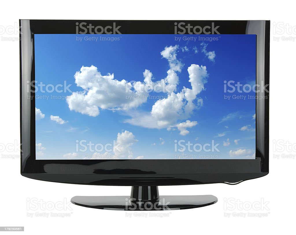TV royalty-free stock photo