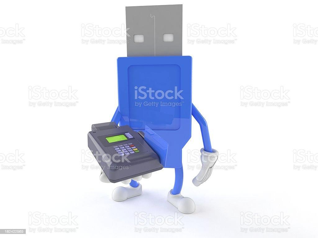USB royalty-free stock photo