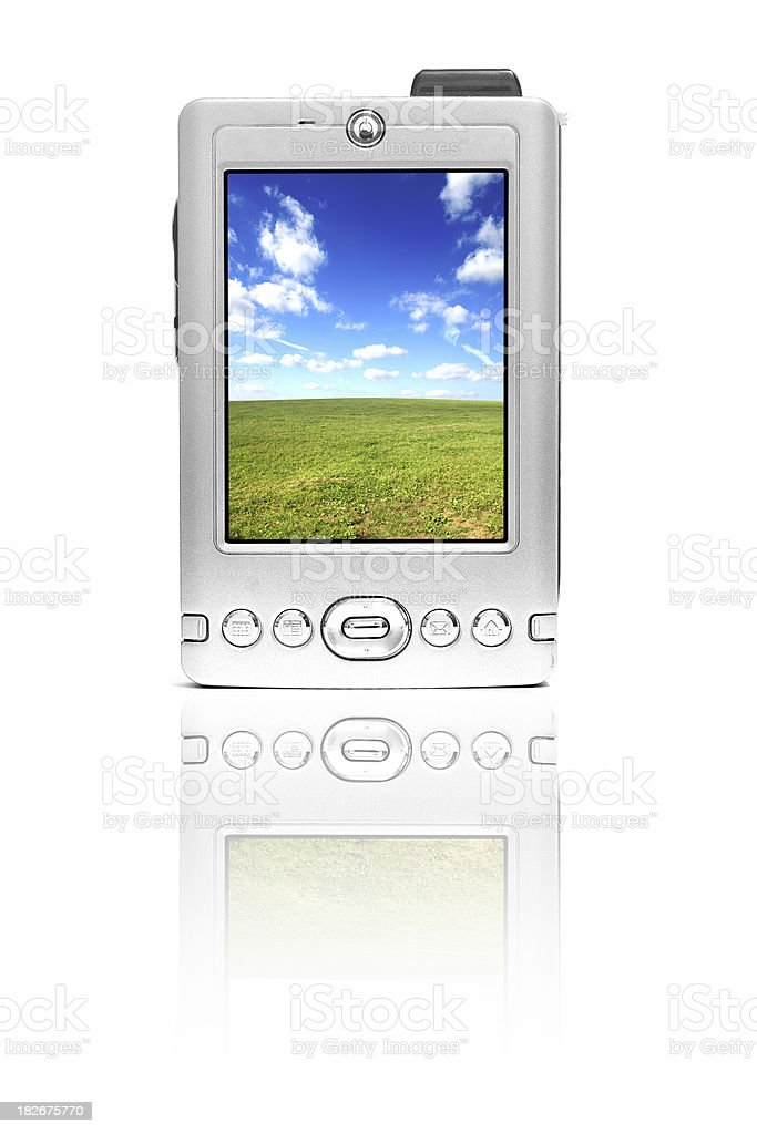 PDA royalty-free stock photo