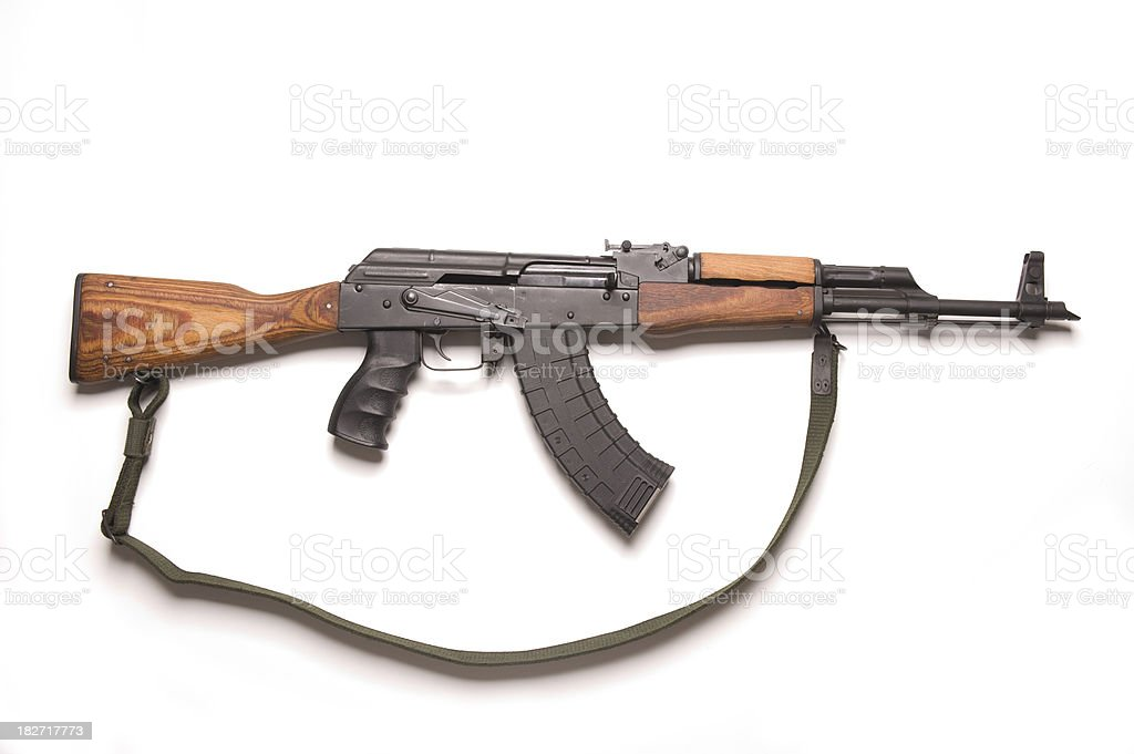 AK-47 royalty-free stock photo