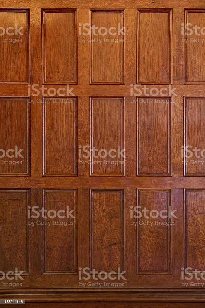 OAK PANEL stock photo
