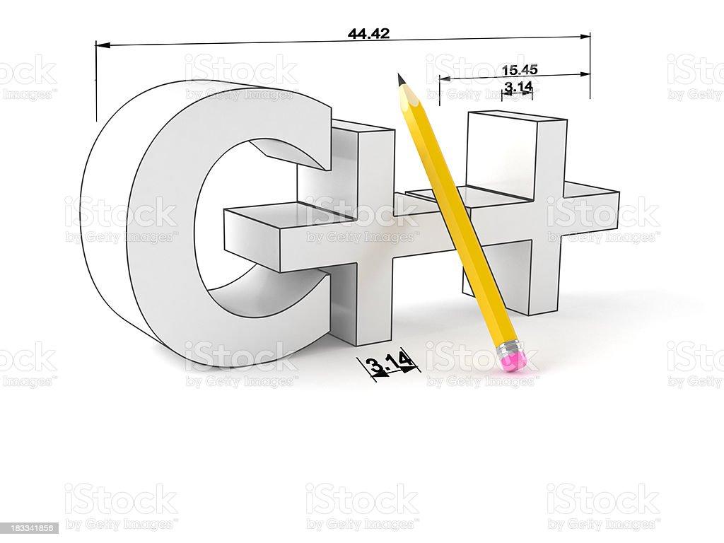C++ stock photo