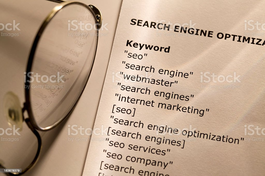 SEO stock photo