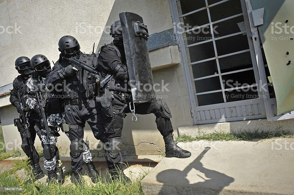 SWAT royalty-free stock photo