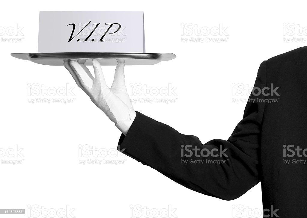 V.I.P royalty-free stock photo