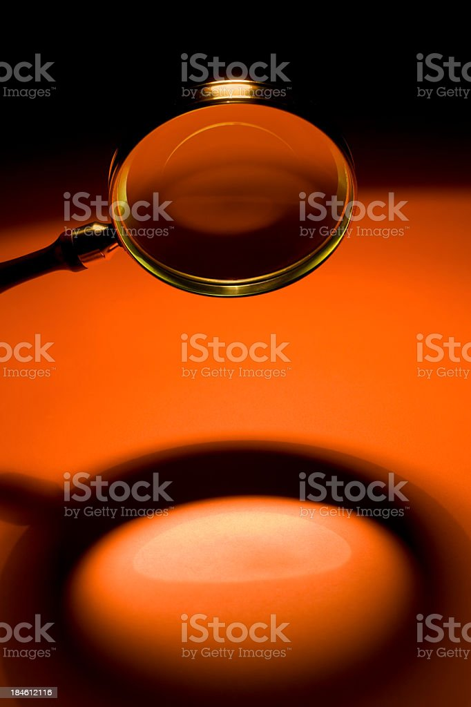 -RESEARCH-ANALYZING-INSPECT- royalty-free stock photo