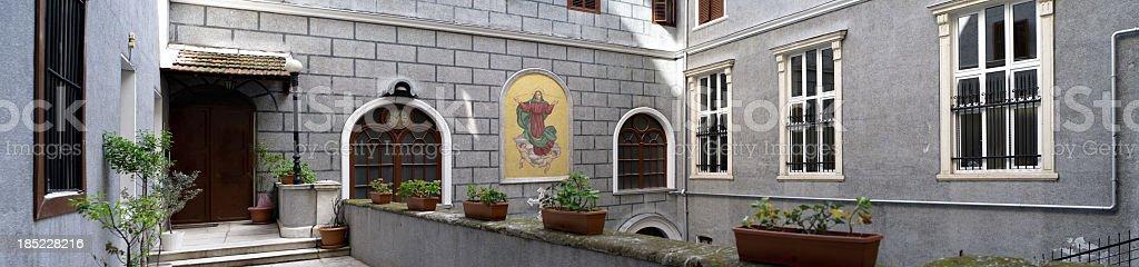 SANTA MARİA DRAPERİS CHURCH stock photo