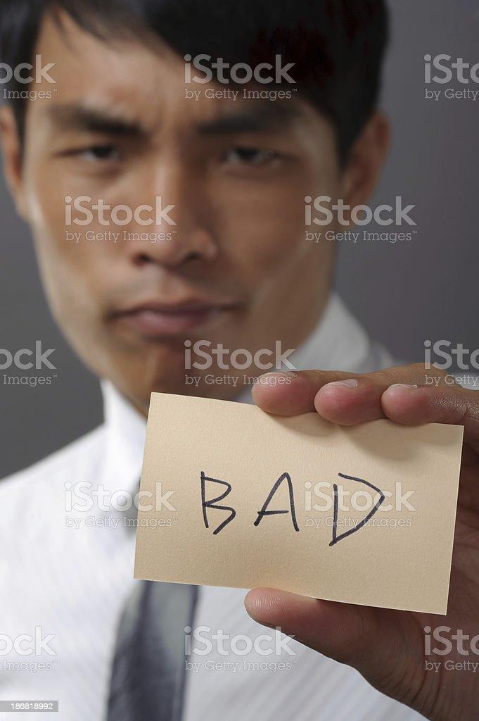 BAD stock photo