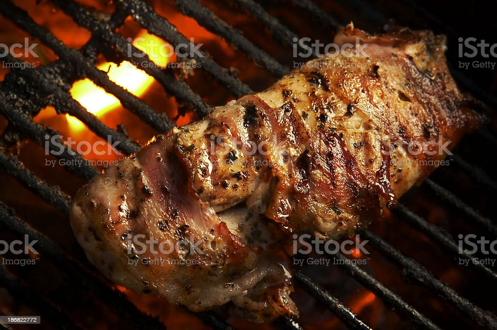 BBQ royalty-free stock photo