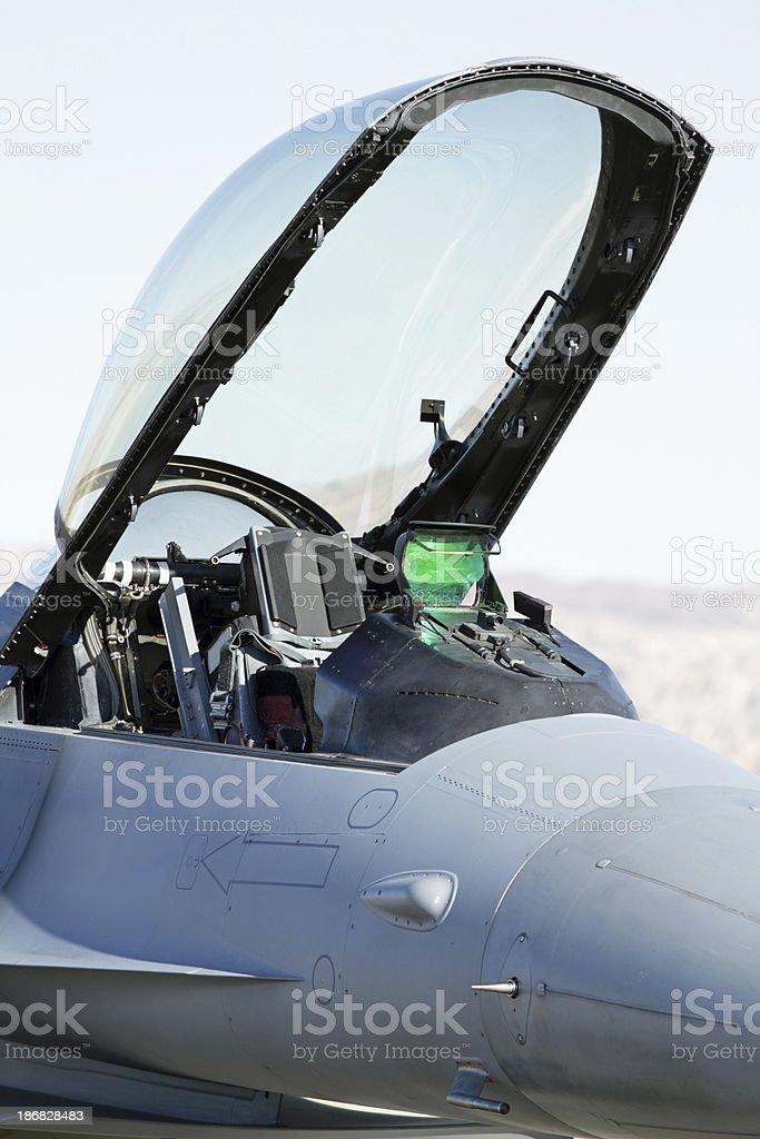 F-16 royalty-free stock photo