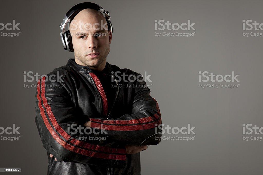DJ stock photo