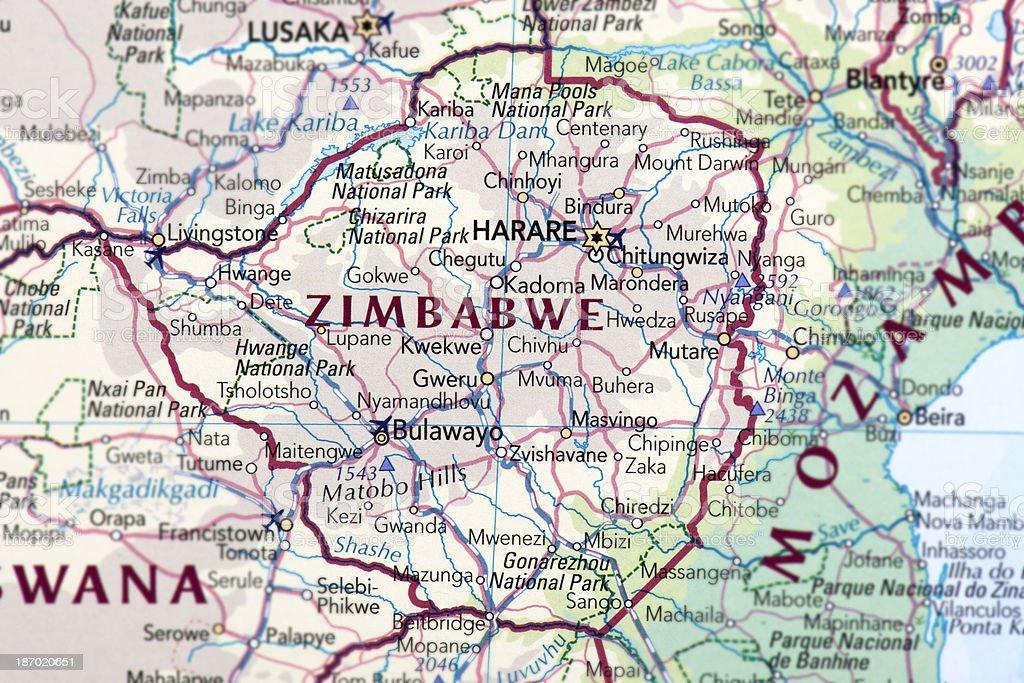 ZIMBABWE royalty-free stock photo