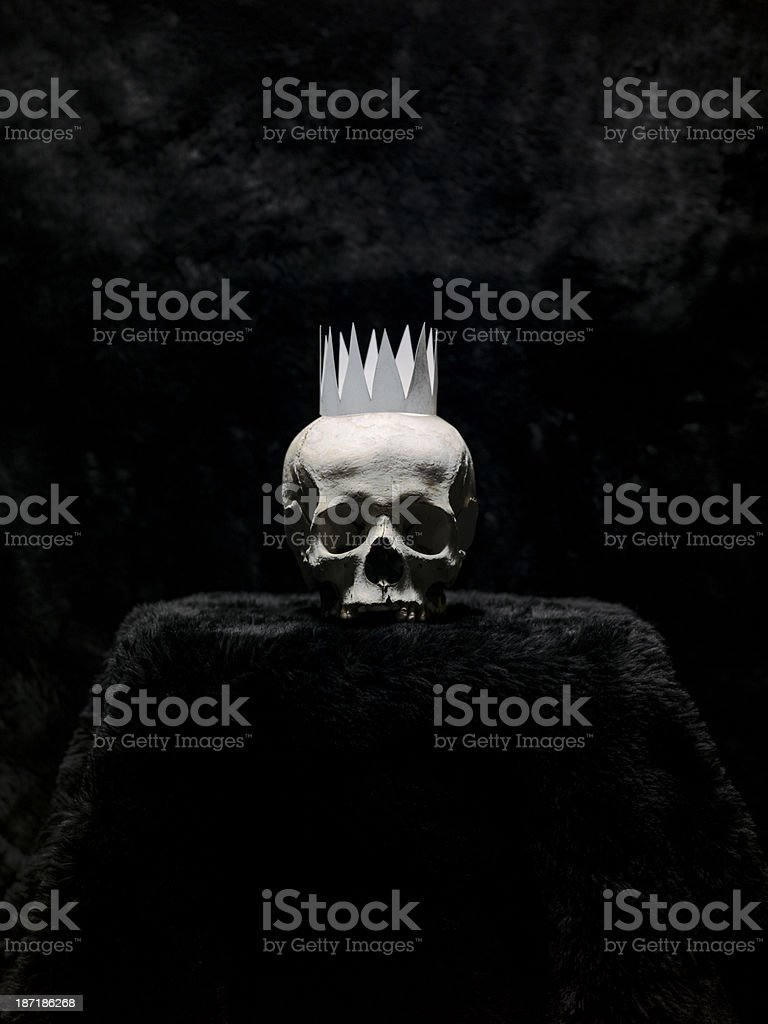 KING OF NOTHING stock photo