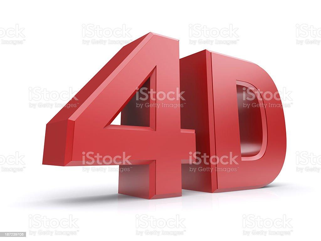 4D stock photo
