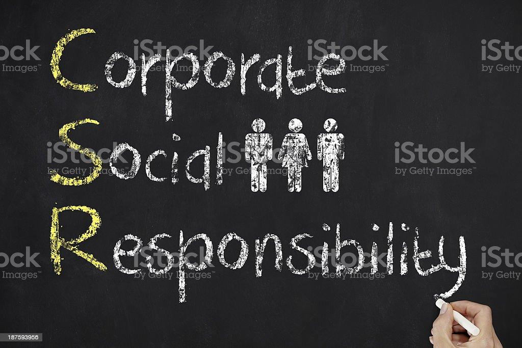 CSR stock photo