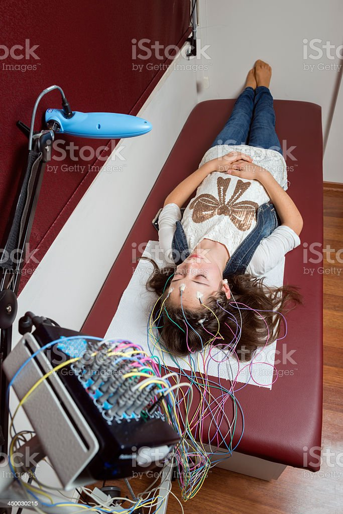 EEG stock photo