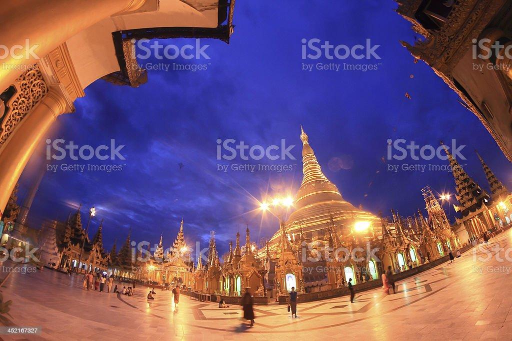 YANGON, MYANMAR royalty-free stock photo