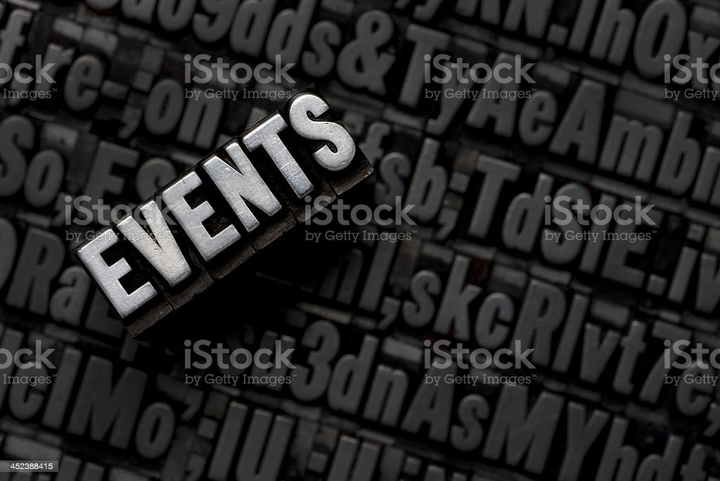 EVENT royalty-free stock photo