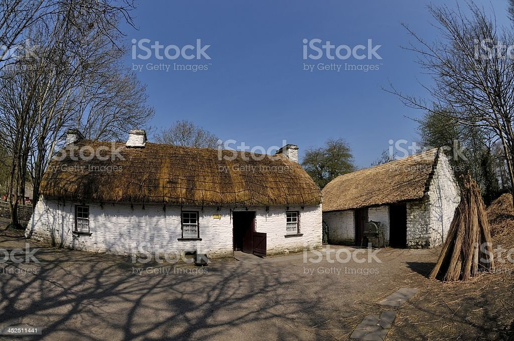 BUNRATTY FOLK PARK stock photo