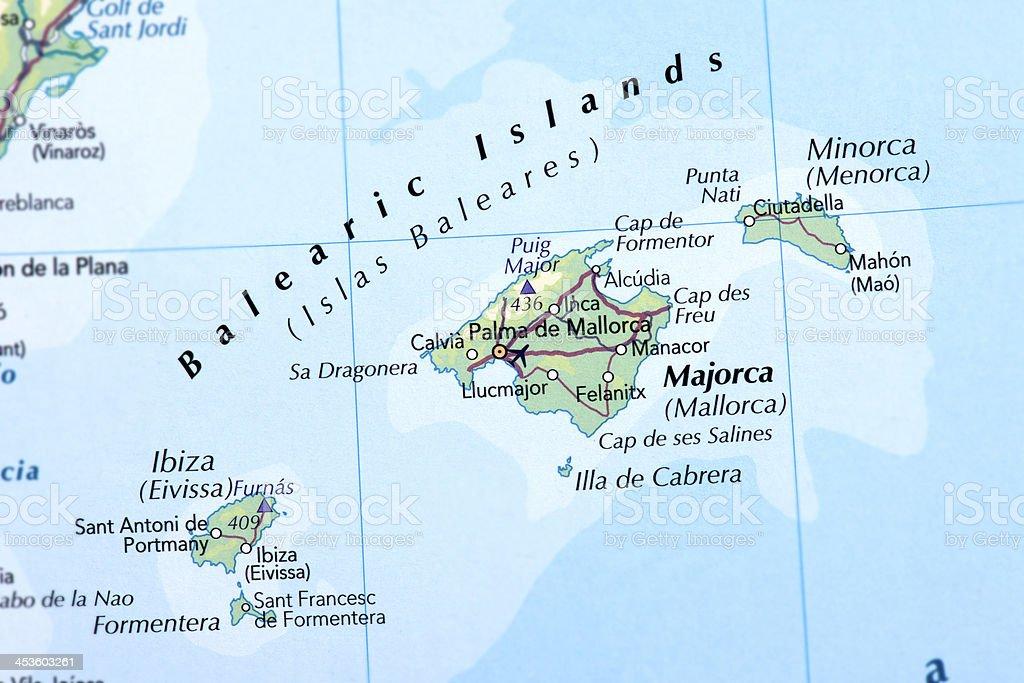 BALEARIC ISLANDS stock photo