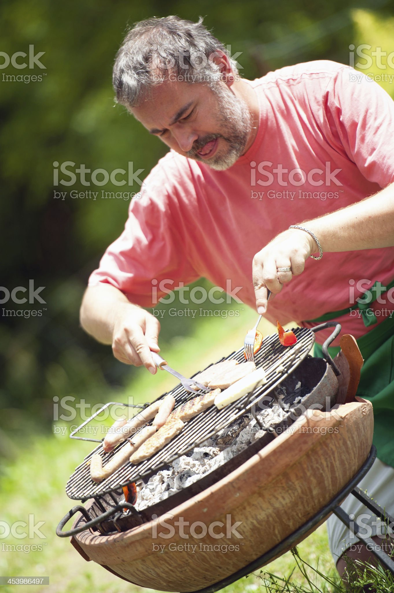 BBQ royalty-free stock photo