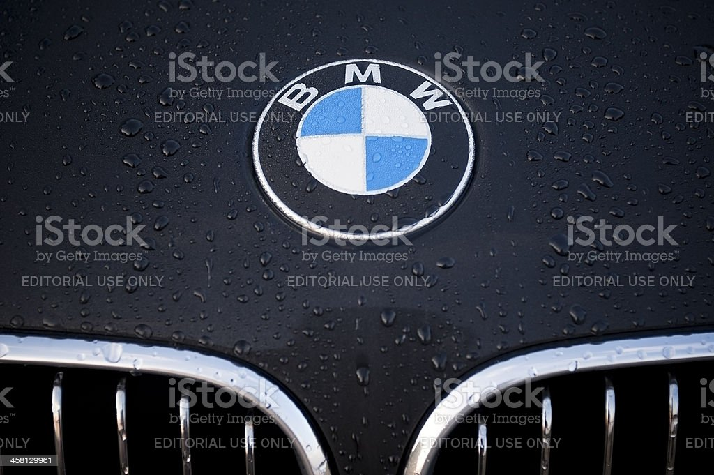BMW royalty-free stock photo