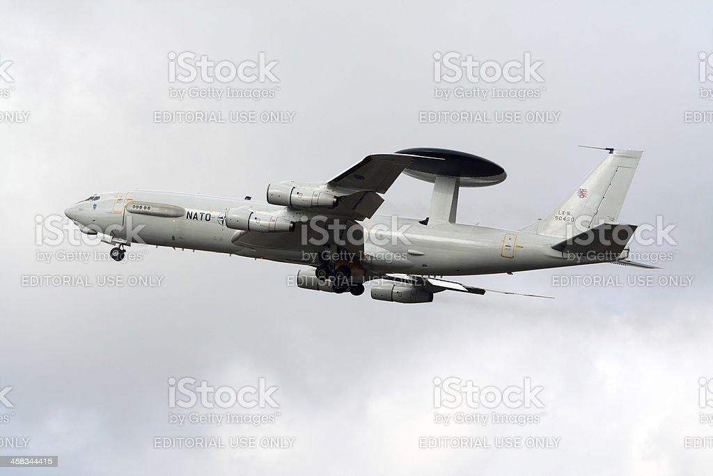 NATO E-3 stock photo