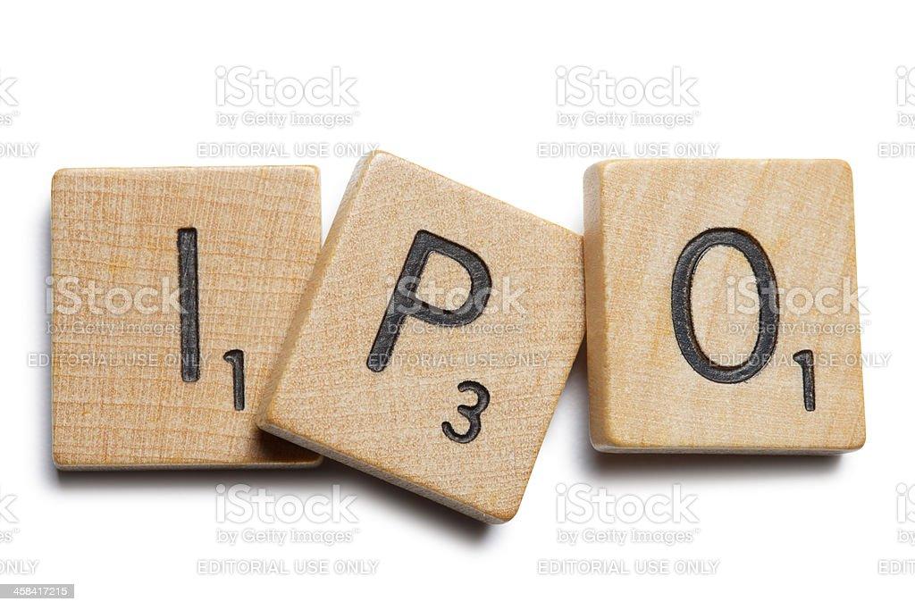 IPO stock photo