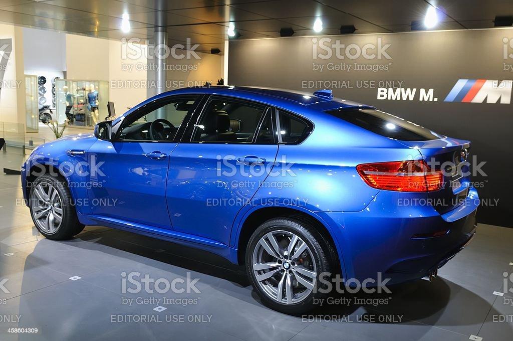 BMW X6 M stock photo