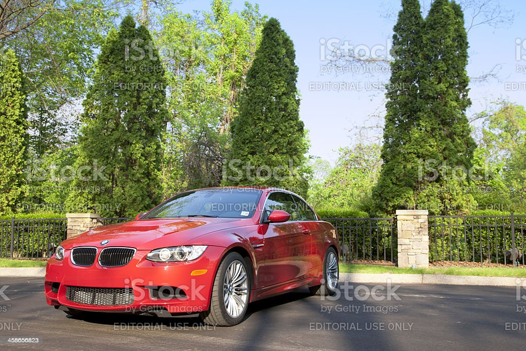 BMW M3 royalty-free stock photo