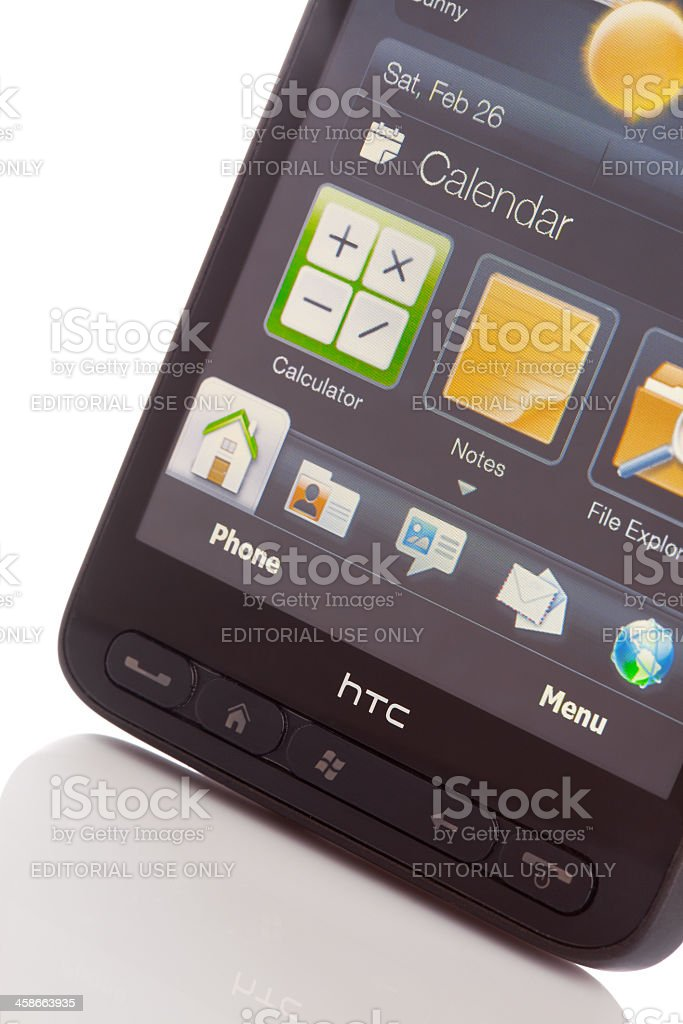 HTC royalty-free stock photo