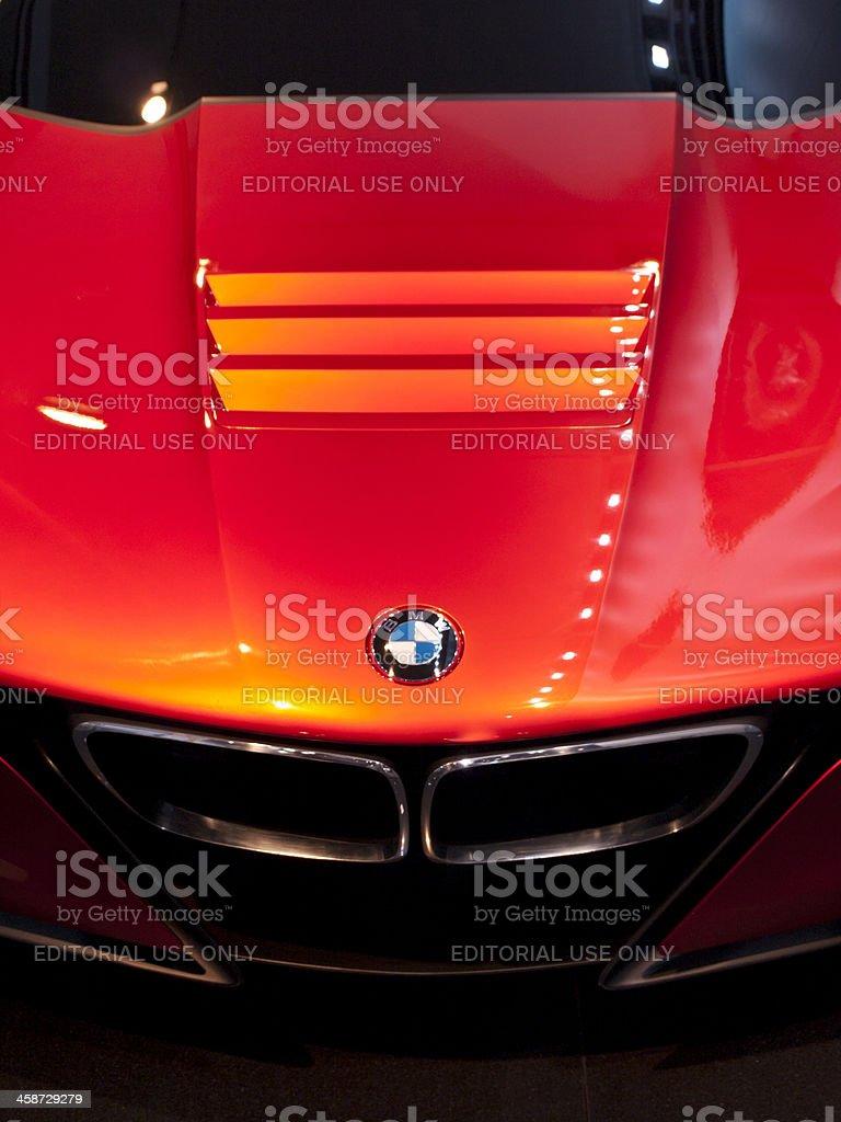 BMW M1 stock photo