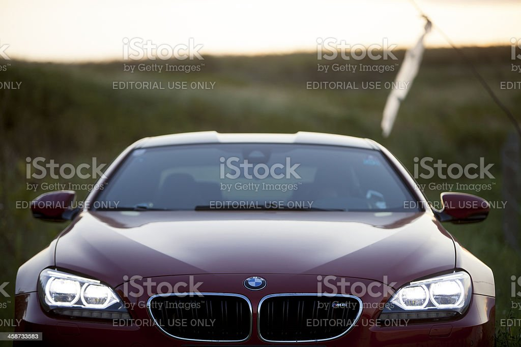 BMW M6 royalty-free stock photo