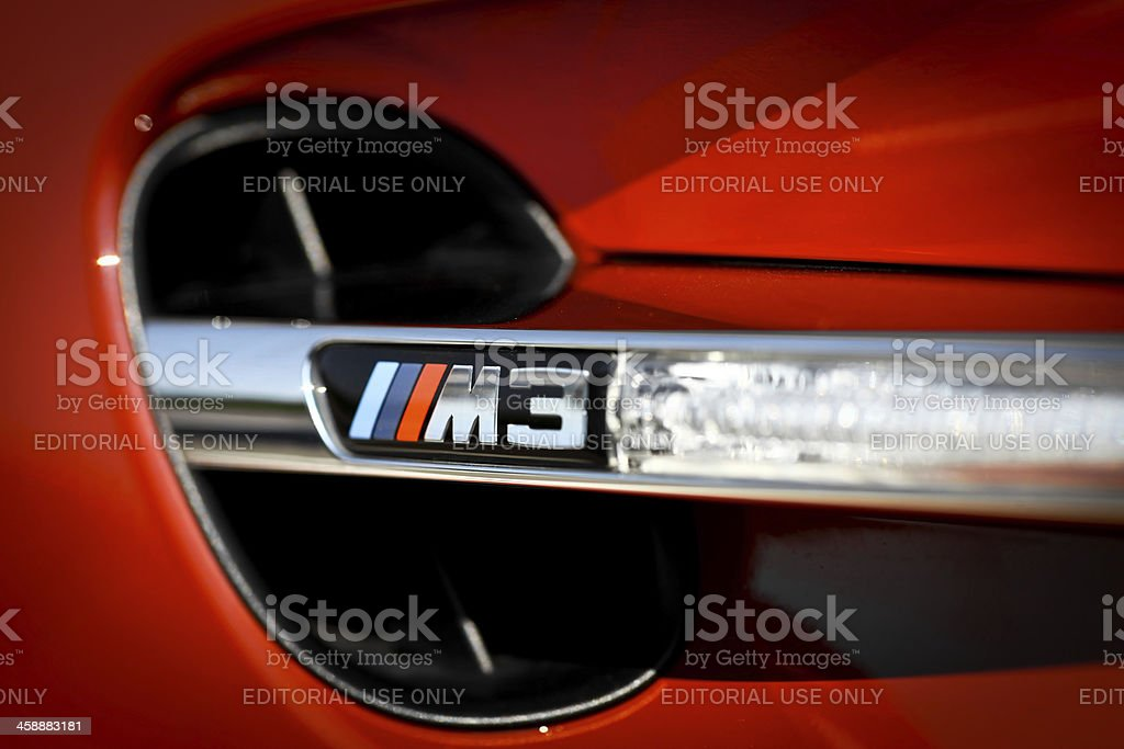 BMW M3 royalty-free stock photo