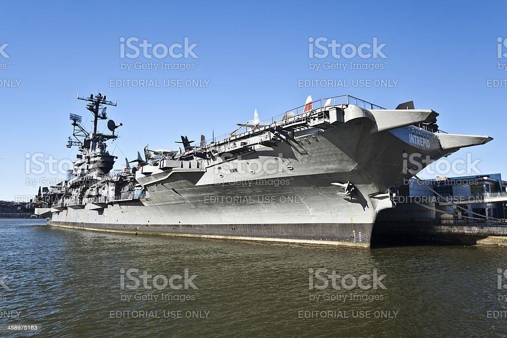 U.S.S. INTREPID stock photo