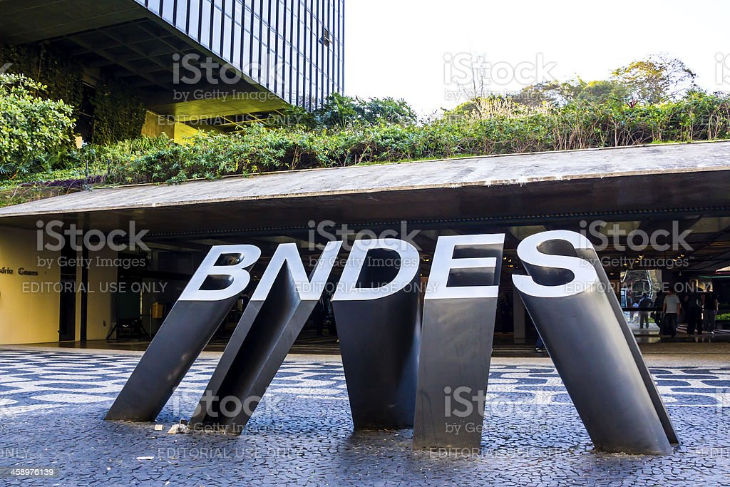 BNDES royalty-free stock photo