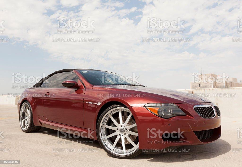 BMW M6 stock photo