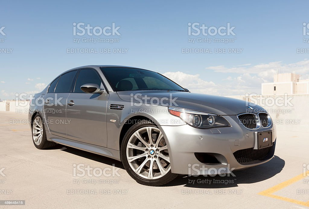 BMW M5 stock photo