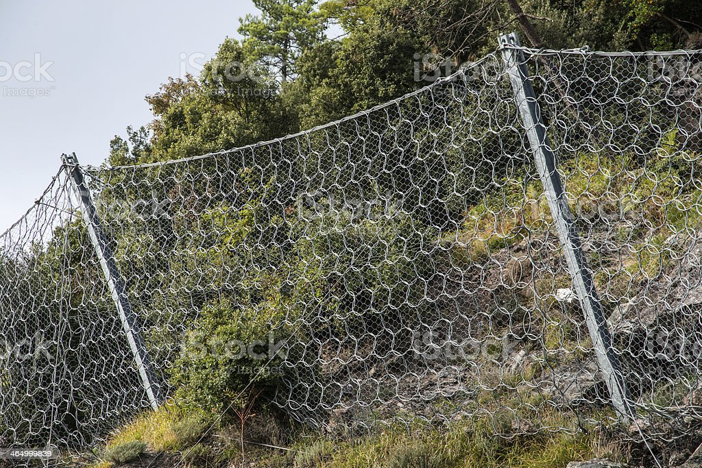 MESH CONTAINMENT royalty-free stock photo