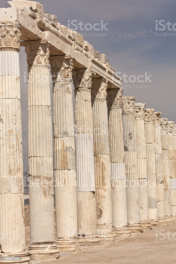 Turkey Laodicea, tourism travel destination royalty-free stock photo