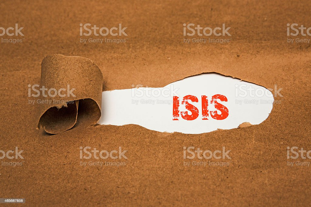 ISIS TERRORISTS stock photo