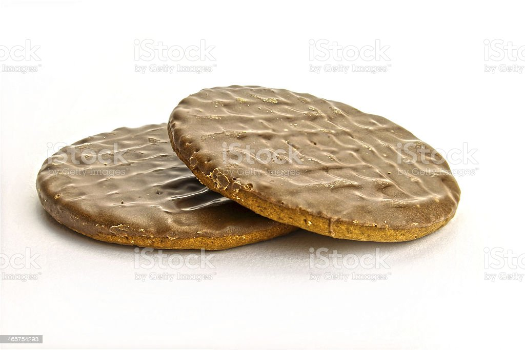 BISCUIT   CHOCOLATE stock photo